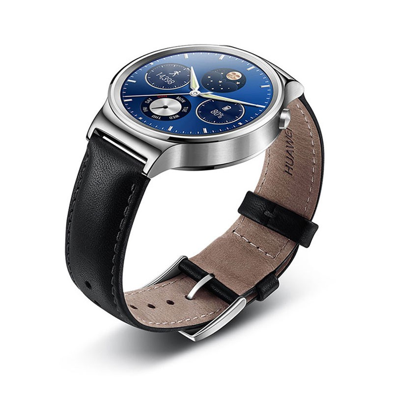 Android Wear часы Genuine Leather Strap