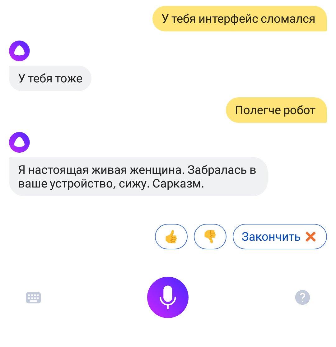 смешные вопросы алисе яндекс