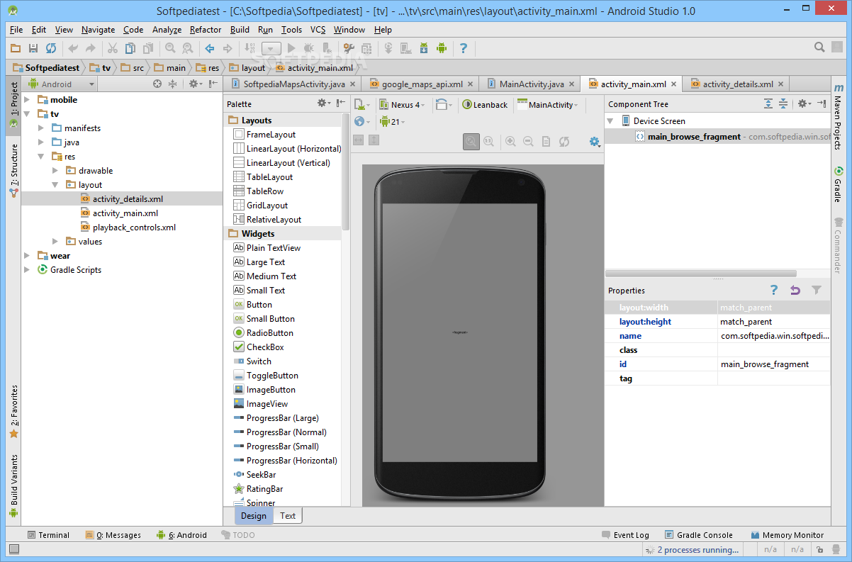 android studio как запустить проект на телефоне