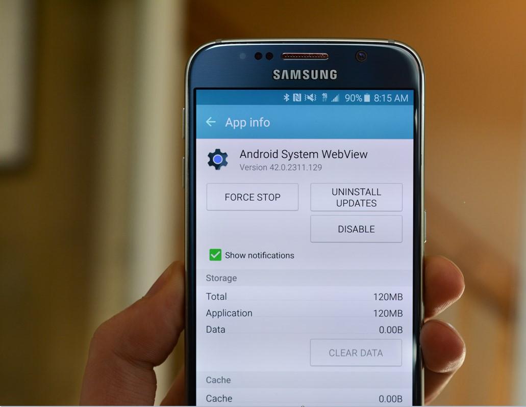 Android System WebView: что это за программа, как включить
