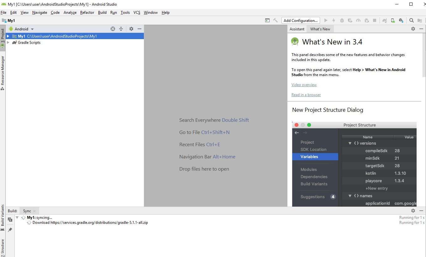 как установить android studio на windows 10