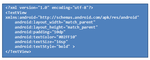 android studio list